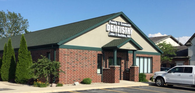 Family and Cosmetic Dental Office Building