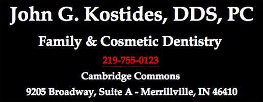 Kostides Dental Header