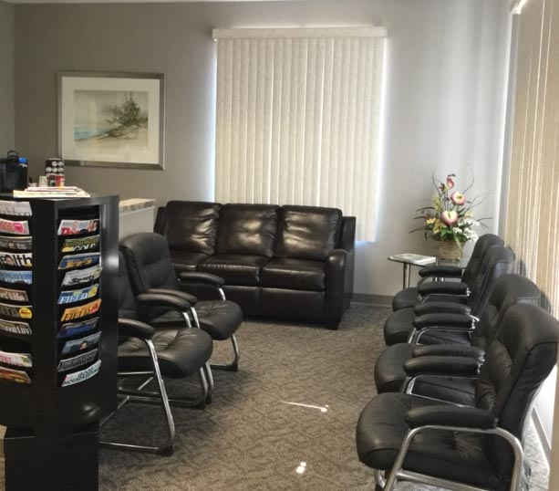 Merrillville Family Dentist Waiting Room Seating Area